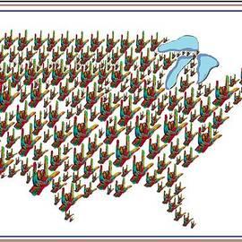 Eloise Schneider - United States ASL I LOVE YOU Map