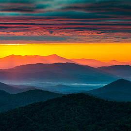 Dave Allen - North Carolina Blue Ridge Parkway Morning Majesty