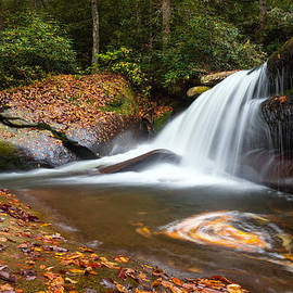 Dave Allen - North Carolina Blue Ridge Waterfall Scenic Landscape Photography