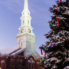 Dawna  Moore Photography - North Church on Market Square Portsmouth New Hampshire