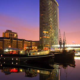 Milan Gonda - North Dock in Canary Wharf.