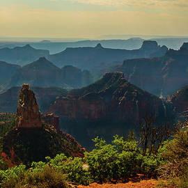 Bob and Nadine Johnston - North Rim Grand Canyon Imperial Point