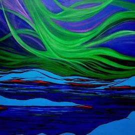 Kathy Peltomaa Lewis - Northern Lights