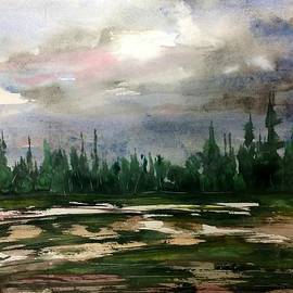 Desmond Raymond - Northern Tree Line - Grey Day