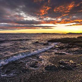 Mike Reid - Northwest Beach Sunset