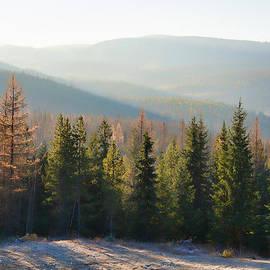 Allan Van Gasbeck - November Sunrise Color
