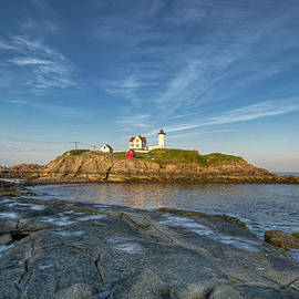 At Lands End Photography - Nubble in Blue