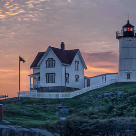 At Lands End Photography - Nubble Lighthouse At Dawn
