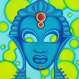 Joseph Sonday - Nubian Modern Mask Blue