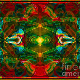 Omaste Witkowski - Nuclear Emotions Abstract Symbol Artwork by Omaste Witkowski