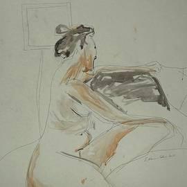 Esther Newman-Cohen - Nude Contemplating