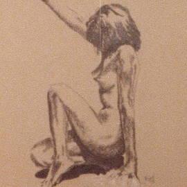 Barbara Keith - Nude in shadow