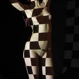 Stephen Carver - Nude- Optical Projection # 4