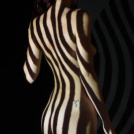 Stephen Carver - Nude- Optical Projection # 8