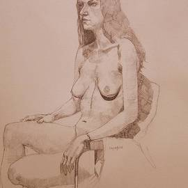 Ray Agius - Nude study for Niki