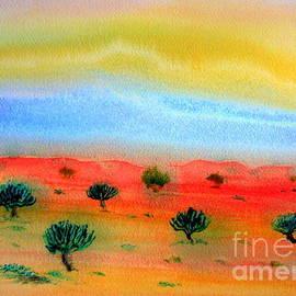 Roberto Gagliardi - Nullarbor desert vegetation