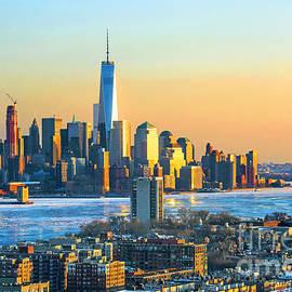 Regina Geoghan - NY and NJ - Winter Sundown Ice