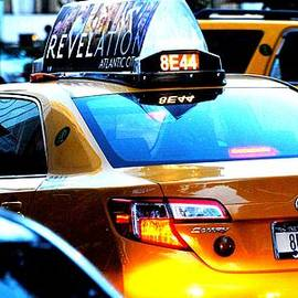 Ron Bartels - NY City Taxi Cab at Twilight Manhattan