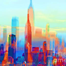Regina Geoghan - NY Impression-Sunrise to Sundown