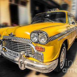 Hannes Cmarits - NYC - Checker -yellow