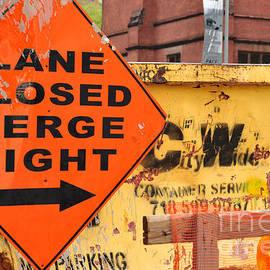 Regina Geoghan - NYC Construction Graffiti