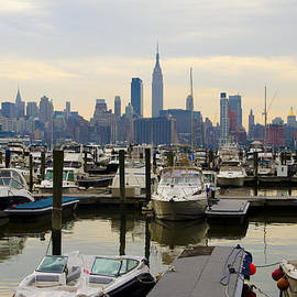 Bill Cannon - NYC View from Lincoln Harbor Weehawkin NJ