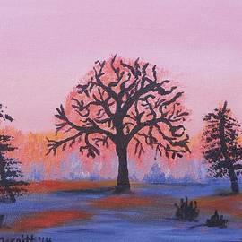 Dorothy Merritt - Oak Tree Sunrise