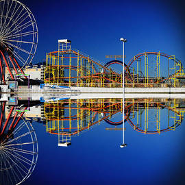 Bill Swartwout - Ocean City Amusement Pier Reflections