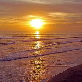 Alex Khomoutov - Ocean Sunset Breeze - metaphysical healing energy art print
