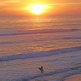 Alex Khomoutov - Ocean Sunset Surf