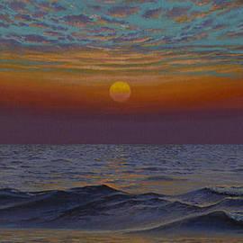 Vrindavan Das - Ocean. Sunset
