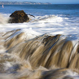 Jerry Cowart - Ocean Waves Breaking Over The Rocks Photography