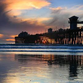 Scott Cunningham - Oceanside Pier Winter Sunset