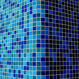 Ode To Steve S.   Corner in Blue