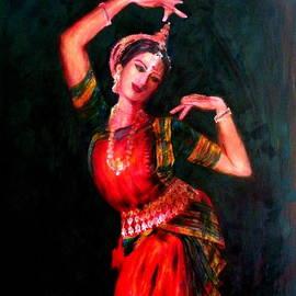 Uma Krishnamoorthy - Odissi Dancer