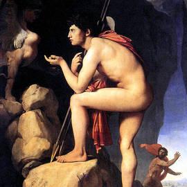 Jean Auguste Dominque Ingres - Oedipus Solves the Puzzle
