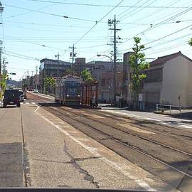 Yoshikazu Yamaguchi - Of streetcar Toyohashi Railroad
