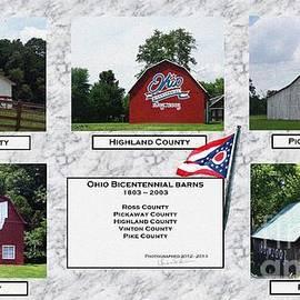 Charles Robinson - Ohio Bicentennial Barn - Collage