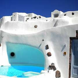 Colette V Hera  Guggenheim  - Oia Santorini  with direct view to the Oceon Greece