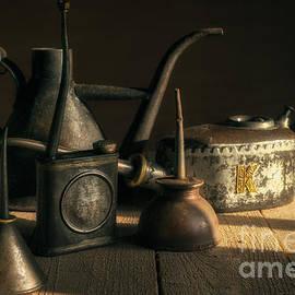 Ann Garrett - Oil Cans in the Sun
