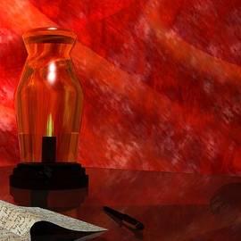 John Pangia - Oil Lamp