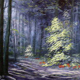 Roena King - Oil Painting - Forest Light
