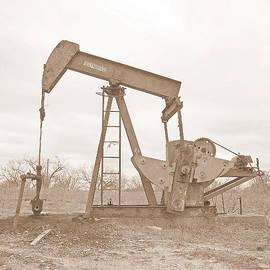 James Granberry - Oil Pump In Sepia
