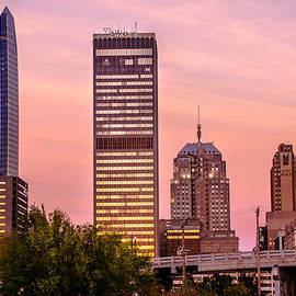 Gregory Ballos - Oklahoma City Downtown Skyline at sunrise