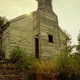 Ann Powell - Old Abandoned Country  School