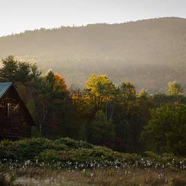 Jonathan Ramsdell - Old Barn and Morning Fog 2