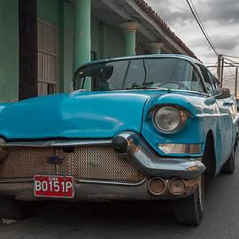 Juan Carlos Ferro Duque - Old Blue Car.