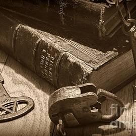 Paul Ward - Old Books - Old Padlock - Old Keys