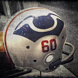 Mike Martin - Old Boston Patriots Football Helmet