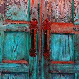 Becky Lupe - Old Church Door Handles 1